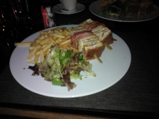 Novotel Paris Centre Tour Eiffel : club sandwich yum yum