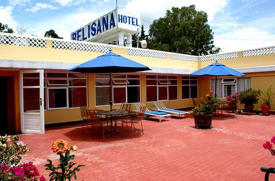 Hotel Belisana: Terraza