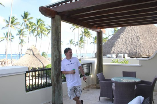 Now Larimar Punta Cana: View from Ocean view room (preffered guest Suite)