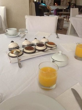 Riad Nashira & Spa : breakfast