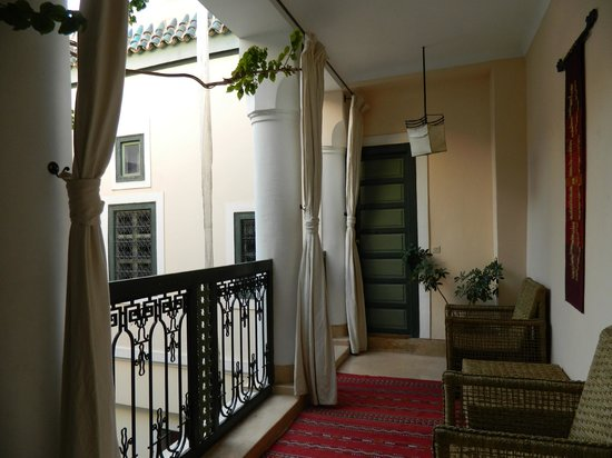 Dar Ihssane: 1st floor balcony