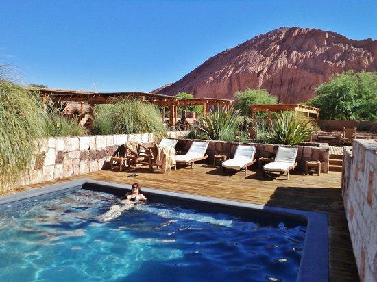 Alto Atacama Desert Lodge & Spa: Vista de las ´piletas