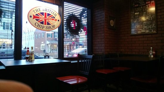 British Chip Shop: View of Kings Highway