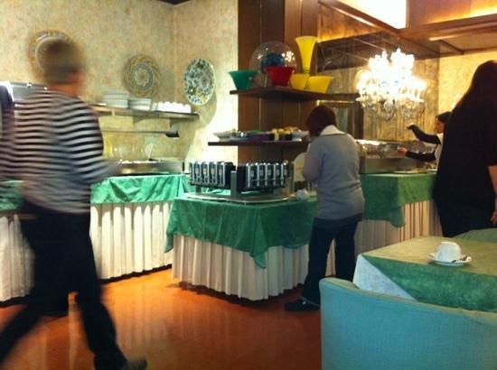 لو بوليفارد: sala colazioni 