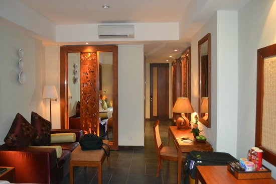 Kuta Seaview Boutique Resort & Spa: the rooms are huge