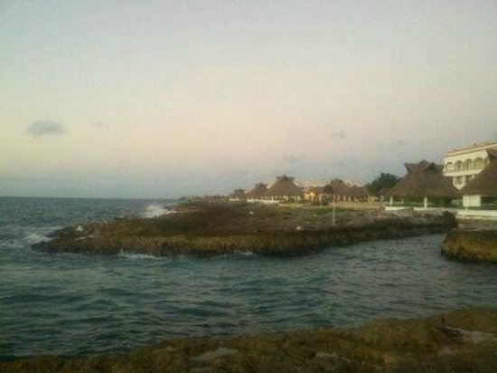 Heaven at the Hard Rock Hotel Riviera Maya: North end of resort