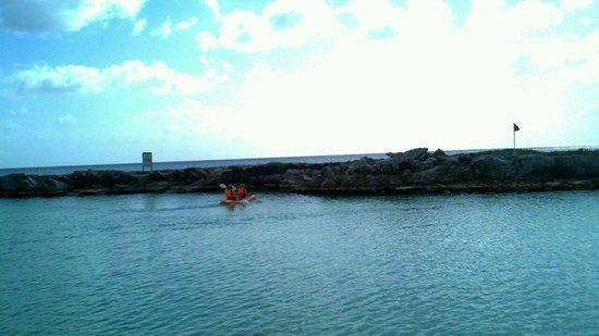 Heaven at the Hard Rock Hotel Riviera Maya: kayacking