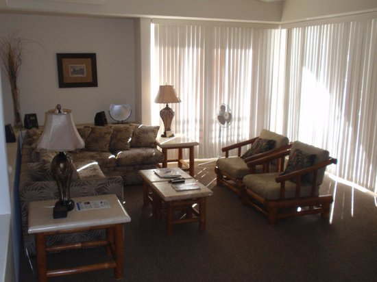 Palms at Wailea: Living Room