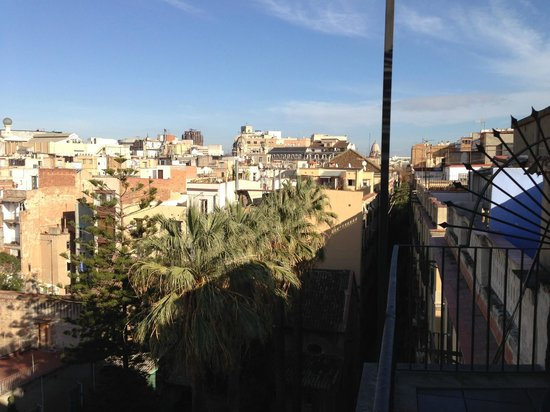 Casa Camper Hotel Barcelona: View from terrace