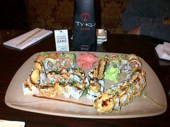 SUSHI HOUSE: Various Sushi Rolls
