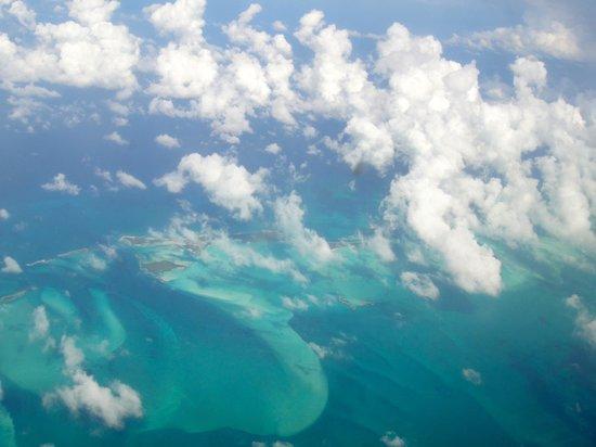 Sandals Emerald Bay Golf, Tennis and Spa Resort: Flying into Exuma