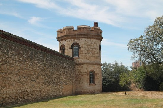 Adelaide Gaol: One of the Gaol Towers