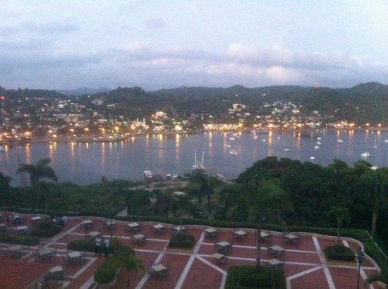 Grand Bahia Principe Cayacoa: magnifique vue sur le village