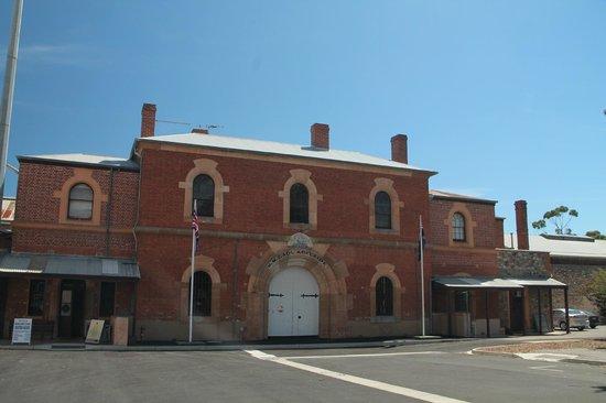 Adelaide Gaol: The Gaol Entrance