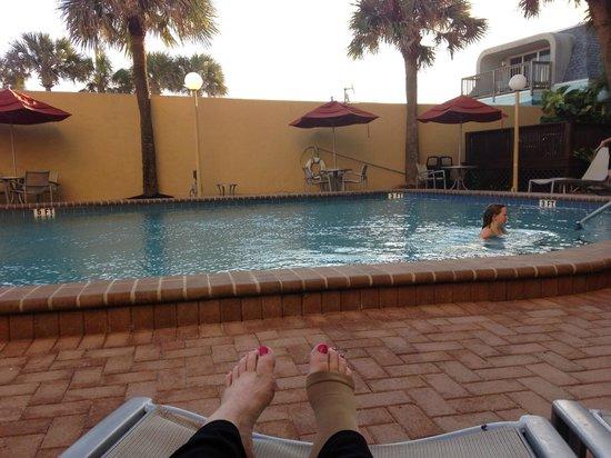 La Quinta Inn & Suites Cocoa Beach Oceanfront: Pool