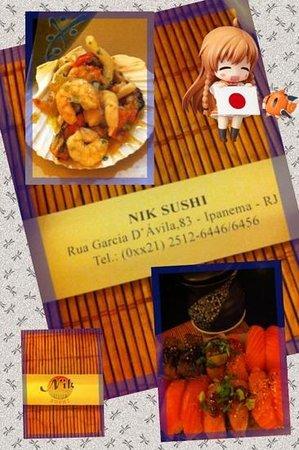 Nik Sushi: Sabor japonês!