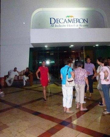 Decameron Cartagena: Entrada del hotel
