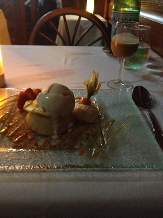 Spiga Restaurant : dessert - maple syrup