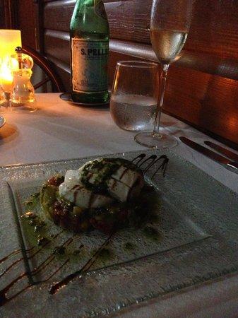 Spiga Restaurant: appetizer - mozzarella