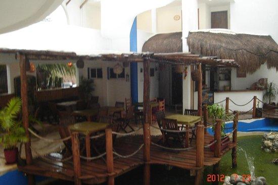 Koox Matan Ka'an Hotel: el restaurant del hotel