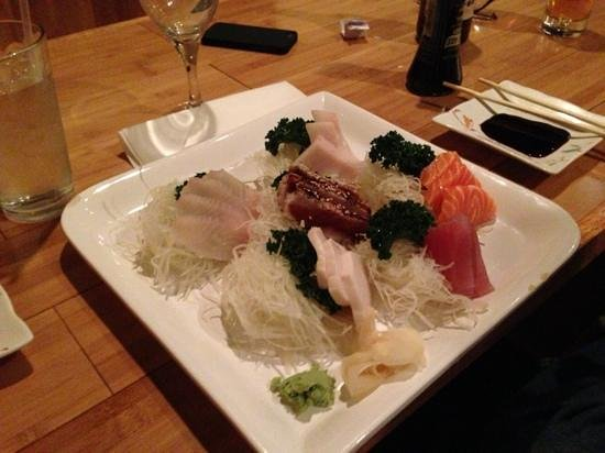 Taste Of Asia: Excellent sashimi! Some of the best my hubby and I have had!