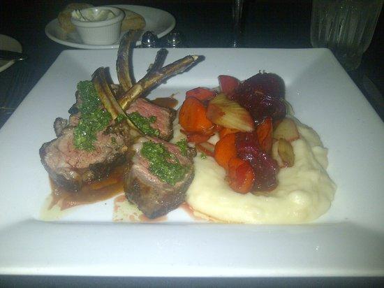 Sebastian's Hideout: Roasted Lamb rack