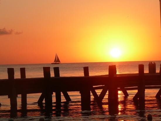 Occidental Cozumel: First sunset at the resort
