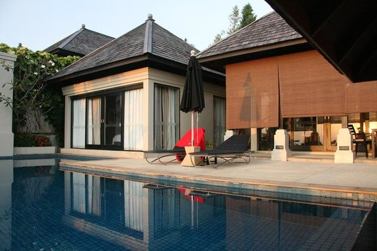 The Pavilions Phuket: Ocean View Villa from the pool