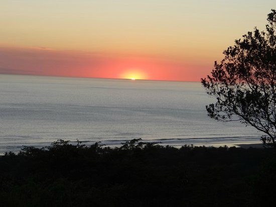 Playa San Miguel, Κόστα Ρίκα: Hermoso atardecer