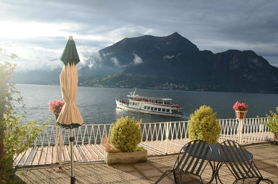 Hotel Metropole Bellagio: The amazing verandah