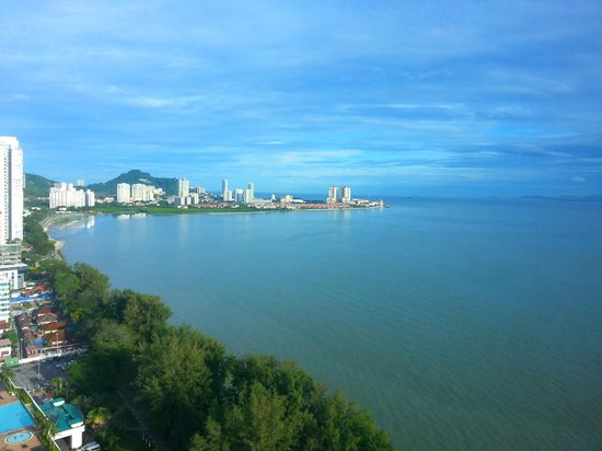 The Gurney Resort Hotel & Residences Penang: View from Hotel Room