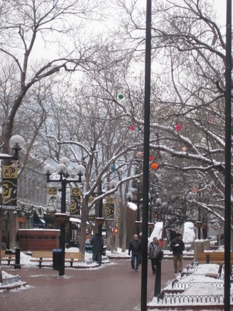 Christmas Lights on Pearl Street - Picture of Pearl Street Mall ...