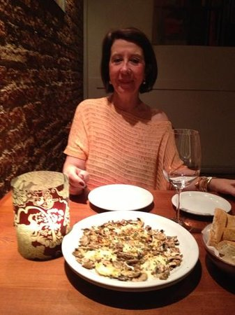 Florentino Bistro: cogumelos ....