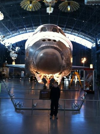 Smithsonian National Air and Space Museum Steven F. Udvar-Hazy Center: We need to ramp up our space program again