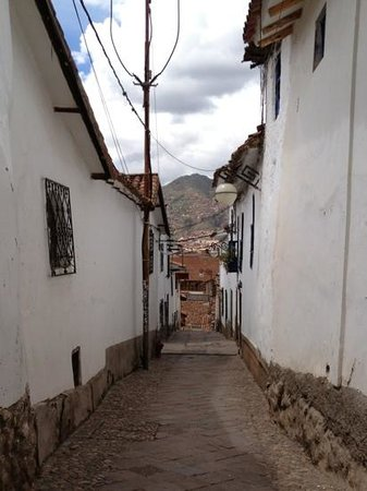 street view outside Second Home Cusco