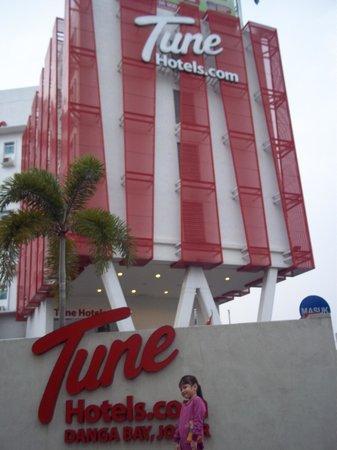 تيون هوتل - دانجا باي جوهور: Tune Hotel Danga Bay Johor Bahru 