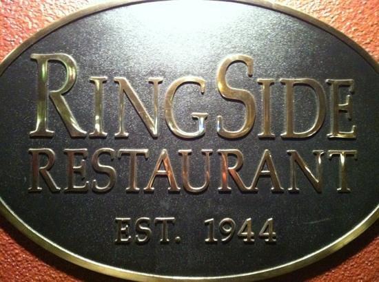Ringside Steakhouse: the Sign