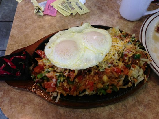 Rudy's Waffle & Pancake House: Mexican Skillet
