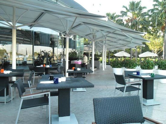 Chatrium Hotel Riverside Bangkok: breakfast area