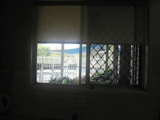 Airlie Apartments: view from kitchen