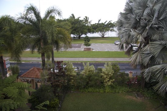 ووترفرونت تيراسيه: View from our Room 