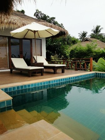 GLOW Elixir Koh Yao Yai: Private Pool of Room 193 (Hillside Pool Villa)