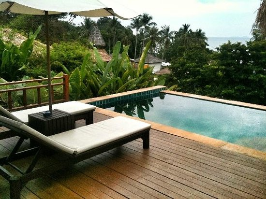 GLOW Elixir Koh Yao Yai: Private pool of Room 193 (Hillside Pool Villa)