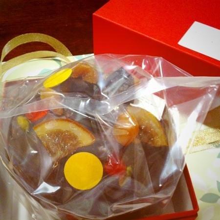 Patisserie Sadaharu Aoki Paris: ドライフルーツがキレイに☆
