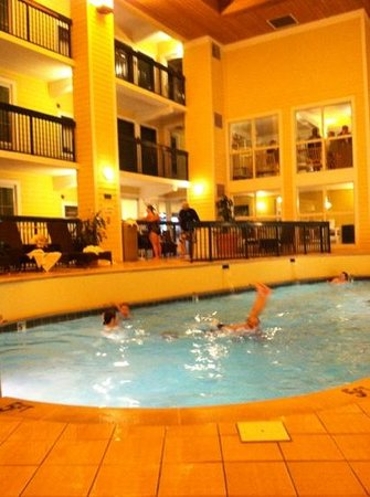 Econo Lodge Riverside: nice indoor pool