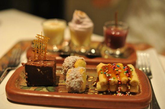 Libertador Lake Titicaca: Dessert assortment