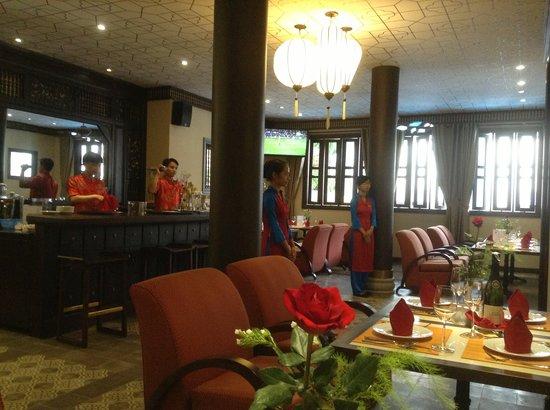 Little Hoian Boutique Hotel & Spa: Coffee Shop Venue