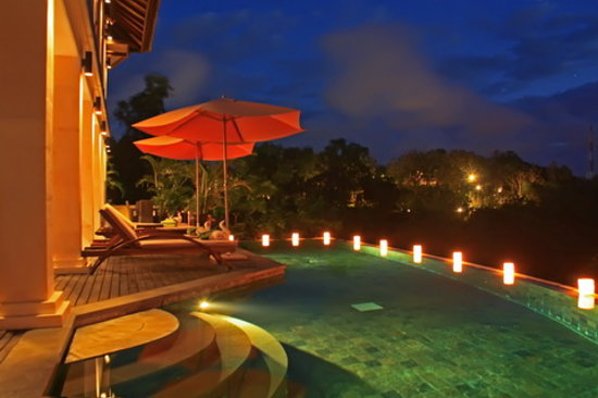 Villa Jalak Bali: Pool Panorama