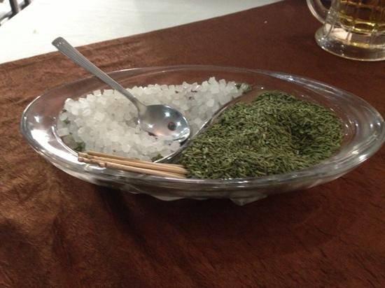 Taj Darbar the multicusine restaurant: rock sugar and anise