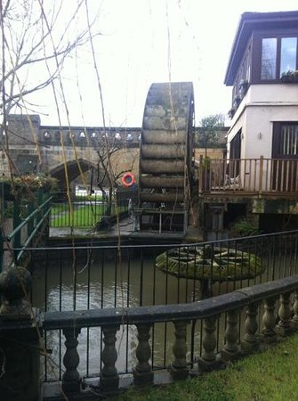 Old Mill Hotel: the view from the gardens